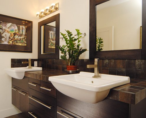 Bathroom Sinks and Mirrors