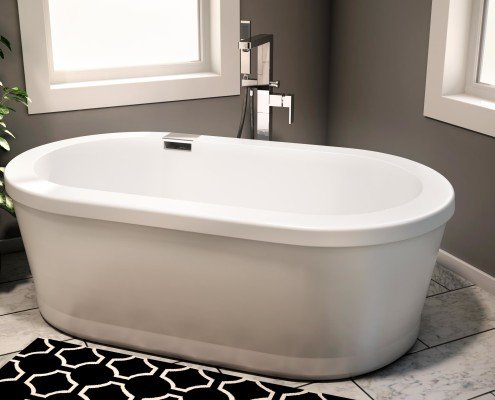A Free Standing Bathtub 2